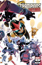 Image: Champions #1 (OUT) (variant cover - Di Meo) - Marvel Comics