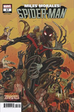 Image: Miles Morales: Spider-Man #17 (OUT) (variant Marvel Zombies cover - Andrews) - Marvel Comics