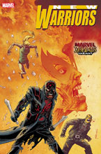 Image: New Warriors #1 (OUT) (variant Marvel Zombies cover - Shalvey) - Marvel Comics