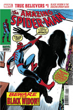 Image: True Believers: Black Widow - Black Widow & Amazing Spider-Man #1 - Marvel Comics