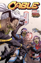 Image: Cable #2 (DX) (variant Marvel Zombies cover - Yardin) - Marvel Comics