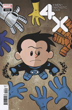 Image: X-Men / Fantastic Four #4 (variant cover - Eliopoulos) - Marvel Comics