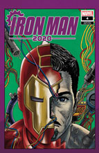 Image: Iron Man 2020 #4 (variant Heads cover - Superlog) - Marvel Comics