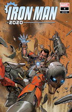 Image: Iron Man 2020 #4 (incentive 1:25 cover - Yu) - Marvel Comics