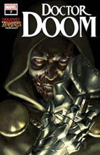 Image: Doctor Doom #7 (variant Marvel Zombies cover - Mercado) - Marvel Comics