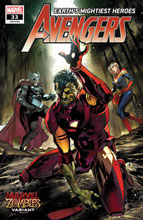 Image: Avengers #33 (variant Marvel Zombies cover - Benjamin) - Marvel Comics