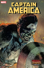 Image: Captain America #21 (variant Marvel Zombies cover - Zircher) - Marvel Comics