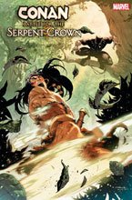 Image: Conan: Battle for the Serpent Crown #3 (variant cover - Coello) - Marvel Comics