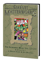 Image: Marvel Masterworks Vol. 294: The Incredible Hulk Nos. 223-233, Annual No. 7 HC  - Marvel Comics
