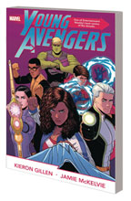 Image: Young Avengers by Gillen & McKelvie Complete Collection SC  - Marvel Comics