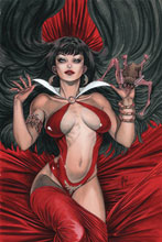 Image: Vampirella Vol. 05 #10 (incentive 1:40 cover - March virgin)  [2020] - Dynamite