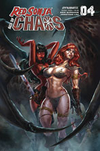 Image: Red Sonja: Age of Chaos #4 (cover B - Quah) - Dynamite