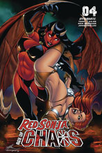 Image: Red Sonja: Age of Chaos #4 (cover C - Garza) - Dynamite