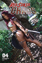 Image: Red Sonja: Age of Chaos #4 (cover E - Vanta Black Cosplay) - Dynamite