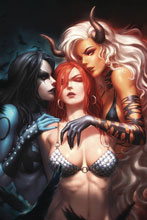 Image: Red Sonja: Age of Chaos #4 (incentive 1:25 cover - Kunkka virgin) - Dynamite