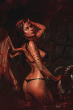 Image: Red Sonja: Age of Chaos #4 (variant cover - Parrillo virgin) - Dynamite