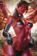 Image: Red Sonja: Age of Chaos #4 (variant cover - Chew virgin) - Dynamite