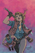 Image: Death to Army of Darkness #3 (variant cover - Davila virgin) - Dynamite