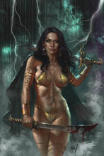 Image: Dejah Thoris #5 (2019) (variant cover - Parrillo virgin) - Dynamite
