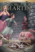 Image: George R.R. Martin's A Clash of King #4 (cover A - Miller) - Dynamite