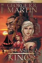 Image: George R.R. Martin's A Clash of King #4 (cover B - Rubi) - Dynamite