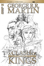 Image: George R.R. Martin's A Clash of King Vol. 02 #4 (incentive 1:20 cover - Rubi B&W) - Dynamite