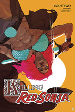 Image: Killing Red Sonja #2 (incentive 1:20 cover - Ward spot color) - Dynamite