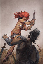 Image: Red Sonja #15 (variant cover - Linsner virgin) - Dynamite