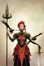 Image: Red Sonja #15 (variant cover - Lee virgin) - Dynamite