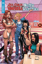 Image: Red Sonja and Vampirella Meet Betty and Veronica #11 (cover C - Braga) - Dynamite