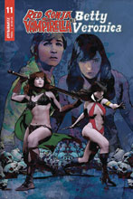 Image: Red Sonja and Vampirella Meet Betty and Veronica #11 (cover E - Staggs) - Dynamite