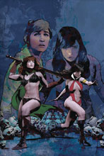Image: Red Sonja and Vampirella Meet Betty and Veronica #11 (variant cover - Staggs virgin) - Dynamite
