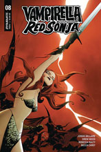 Image: Vampirella / Red Sonja #8 (cover A - Lee) - Dynamite