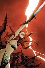 Image: Vampirella / Red Sonja #8 (variant cover - Lee virgin) - Dynamite