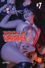 Image: Vengeance of Vampirella Vol. 02 #7 (cover D - Cosplay) - Dynamite