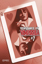 Image: Vengeance of Vampirella Vol. 02 #7 (incentive 1:40 cover - Oliver tinted) - Dynamite