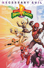 Image: Mighty Morphin Power Rangers #50 (cover A - Campbell) - Boom! Studios