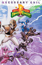 Image: Mighty Morphin Power Rangers #50 (variant Connecting cover - Jamal Campbell) - Boom! Studios