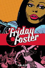 Image: Friday Foster Collected HC  - Ablaze