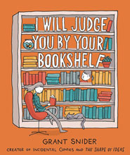 Image: I Will Judge You by Your Bookshelf GN  - Abrams Comicarts