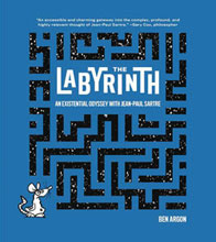 Image: Labyrinth Existential Odyssey with Sartre GN  - Abrams Comicarts