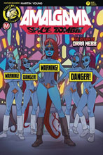 Image: Amalgama Space Zombie #7 (cover B - Young risque) - Action Lab - Danger Zone
