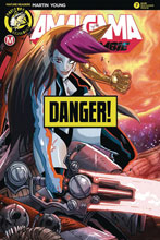 Image: Amalgama Space Zombie #7 (cover D - Rudetoons Reynolds risque) - Action Lab - Danger Zone
