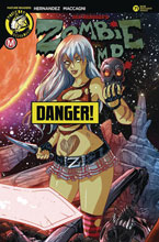 Image: Zombie Tramp #71 (cover D - Rudetoons Reynolds risque) - Action Lab - Danger Zone