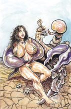 Image: Cavewoman Badlands One-Shot  (cover A - Massey) - Amryl Entertainment