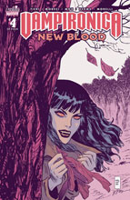 Image: Vampironica: New Blood #4 (cover B - Malhotra) - Archie Comic Publications