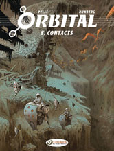 Image: Orbital Vol. 08: Contacts GN  - Cinebook