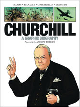 Image: Churchill Graphic Biography GN  - Dead Reckoning