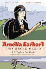 Image: Amelia Earhart: This Broad Ocean GN  - Disney - Hyperion