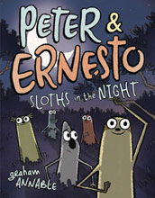 Image: Peter & Ernesto: Sloths in the Night HC  - First Second (:01)